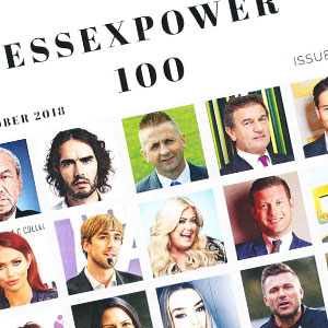 Frank in the Essex Power 100