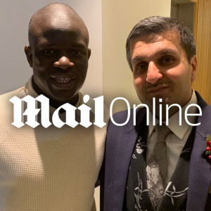 N'Golo Kante makes Chelsea fan's day as he shows up at wedding of his daughter